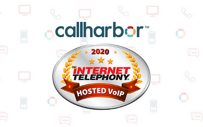 CallHarbor Wins 2020 INTERNET TELEPHONY Hosted VoIP Excellence Award